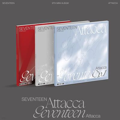 세븐틴 (Seventeen) - 미니앨범 9집 : Attacca [Op.1/Op.2/Op.3 ver. 중 랜덤발송]