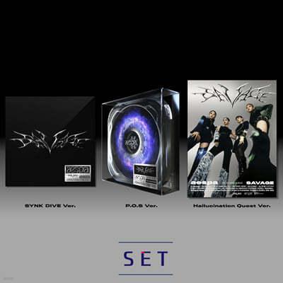 에스파 (aespa) - 미니앨범 1집 : Savage [SET]