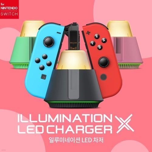 닌텐도 스위치 일루미네이션 LED 조이콘 충전스탠드