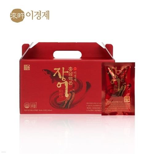[래오이경제] 홍삼먹은 장어진액 (70ml*30포)
