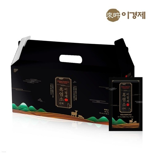 [래오이경제] 흑염소진액 (70ml*30포)