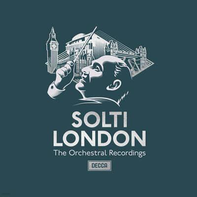 게오르그 솔티 / 런던필 - 관현악 연주 모음집 (Georg Solti - The London Orchestral Recordings)