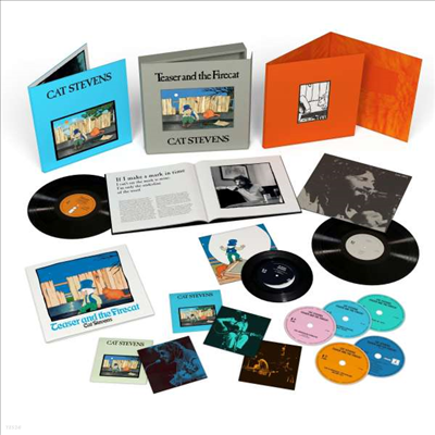 Cat Stevens - Teaser & The Firecat (50th Anniversary Edition)(Limited Super Deluxe Box Set)(4CD+Blu-ray+2LP+7 Inch Single LP)