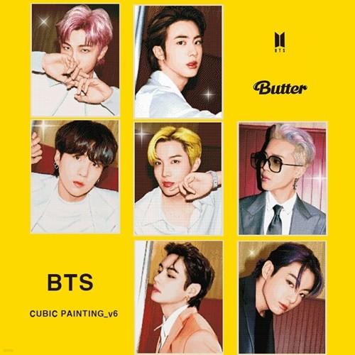 방탄소년단 보석십자수_6 Butter(방탄소년단 큐빅페인팅_6 Butter, BTS CUBIC PAINTING_6 Butter) (40 X 50)