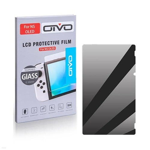OIVO 스위치 OLED 강화유리 액정필름 / 닌텐도스위치 올레드 전용