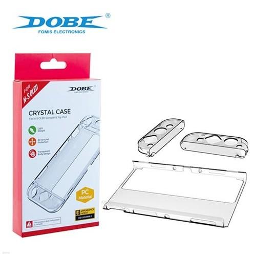 DOBE 스위치 OLED 크리스탈 케이스 / 닌텐도스위치 올레드 전용
