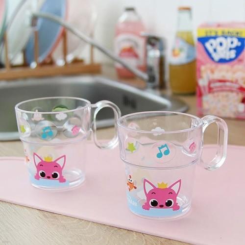핑크퐁 도트치카컵 다용도물컵/유아 아동 어린이 양치컵