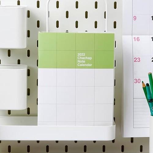 2022 chachap Note calendar