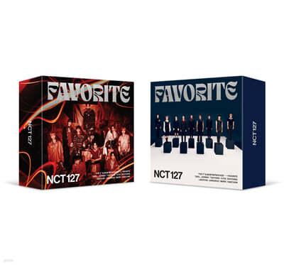 엔시티 127 (NCT 127) 3집 - 리패키지 : Favorite [스마트 뮤직 앨범(키트 앨범)] [커버 2종 중 1종 랜덤 발송]