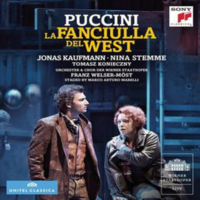 푸치니: 서부의 아가씨 (Puccini: La Fanciulla Del West) (한글무자막)(Blu-ray)(2016) - Jonas Kaufmann