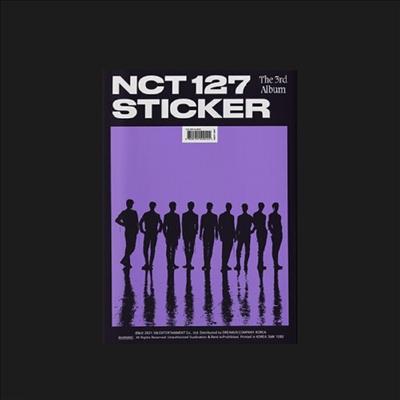 엔시티 127 (NCT 127) - 3rd Album Sticker (Sticker Ver)(CD)