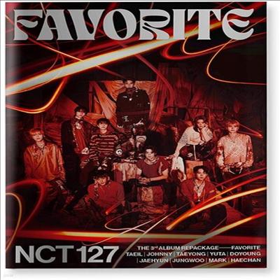 엔시티 127 (NCT 127) - 3rd Album Favorite (Repackage)(Catharsis Ver.)(CD)