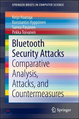 Bluetooth Security Attacks: Comparative Analysis, Attacks, and Countermeasures