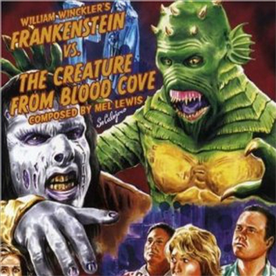 O.S.T. - Frankenstein Vs Creature From Blood Cove (프랭켄슈타인 Vs 블러드 코브 괴물)(CD)