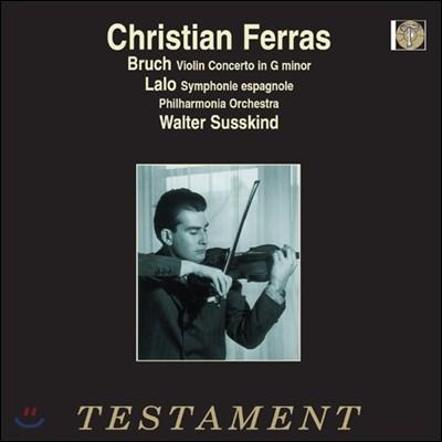 Christian Ferras 브루흐: 바이올린 협주곡 1번 / 랄로: 스페인 교향곡 - 크리스티앙 페라스 [LP]