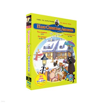 [무비토킹] 안데르센 탄생 200주년 명작동화 (눈사람 + 늙은 가로등 + 높이뛰기 대장) / 영어 교육용 프로그램 탑재