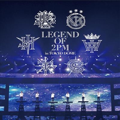 투피엠 (2PM) - Legend Of 2PM In Tokyo Dome (Blu-ray)