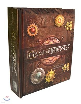 [스크래치 특가]Game of Thrones : A Pop-Up Guide to Westeros 왕좌의 게임 팝업북