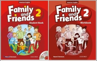 American Family and Friends 2 SET : Student Book with Time to Talk CD + Workbook