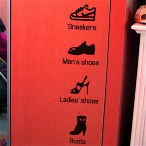 [상상날개]Life Sticker 신발장시리즈/라이프 스티커/데코 스티커/포인트 스티커