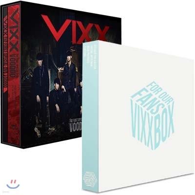 빅스 박스 굿즈 세트 VIXX BOX: FOR OUR FANS + 빅스 (VIXX) The First Special DVD : Voodoo