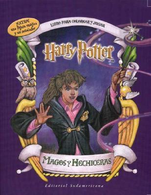 Harry Potter Magos y Hechicera - Para Colorear