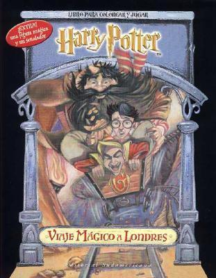 Harry Potter Viaje Magico - Para Colorear
