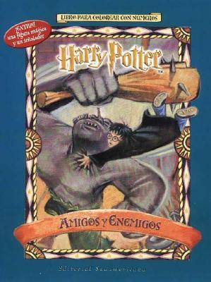 Harry Potter Amigos y Enemigos - Para Colorear