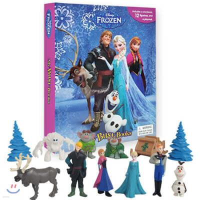 Disney Frozen My Busy Book 디즈니 비지북 겨울왕국 피규어 책