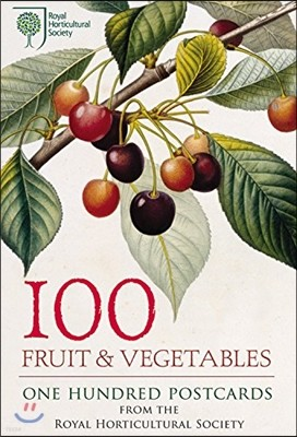 100 Fruit and Vegetables from the RHS : 100 Postcards in a Box