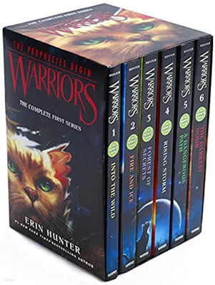 Warriors : The Prophecies Begin #1-6 Box Set