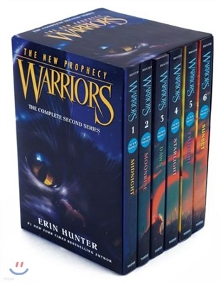 Warriors : The New Prophecy #1-6 Box Set