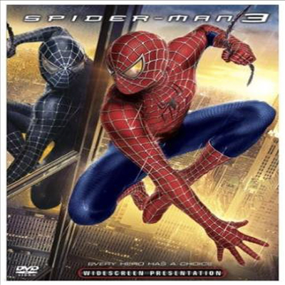 Spider-Man 3 (스파이더맨 3) (2007)(지역코드1)(한글무자막)(DVD)