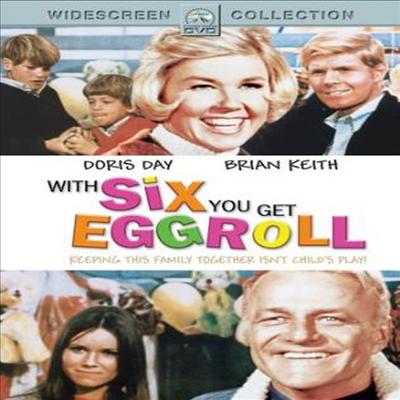 With Six You Get Eggroll (위드 식스 유 겟 애그롤) (1968)(지역코드1)(한글무자막)(DVD)