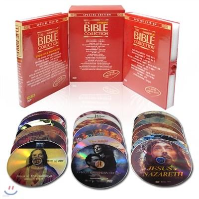 더 바이블 정품 3부,4부 DVD 컬렉션 THE BIBLE 20Disc 세트/영어더빙+영어,한글,무자막지원/성경, 성서영화 시리즈