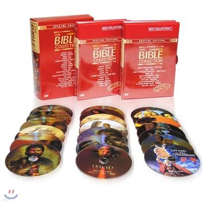 더 바이블 정품 1부,2부 DVD 컬렉션 THE BIBLE 20Disc 세트/영어더빙+영어,한글,무자막지원/성경, 성서영화 시리즈