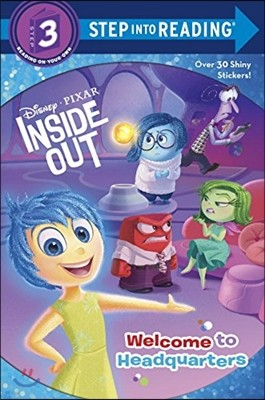 Step into Reading 3 : Disney Pixar Inside Out  : Welcome to Headquarters