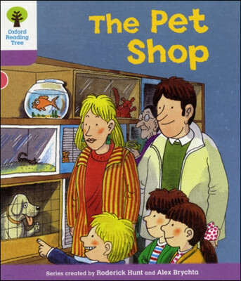Oxford Reading Tree Level 1+: Patterned Stories: Pet Shop