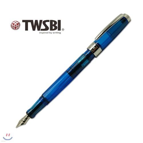 트위스비 다이아몬드 540 사파이어 (TWSBI Diamond 540 Sapphire fountain pen)