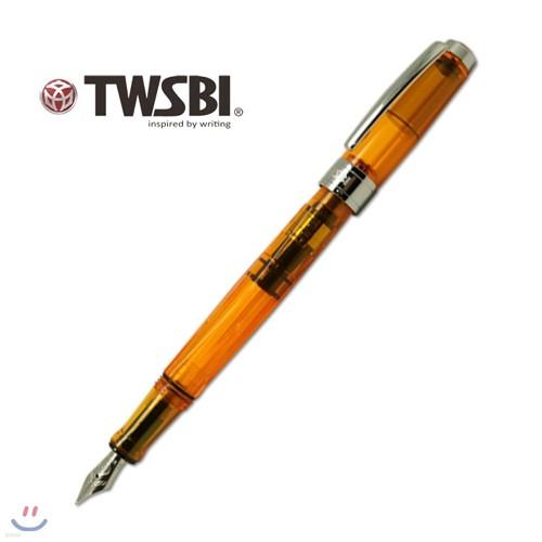 트위스비 다이아몬드 540 엠버 (TWSBI Diamond 540 Amber fountain pen)