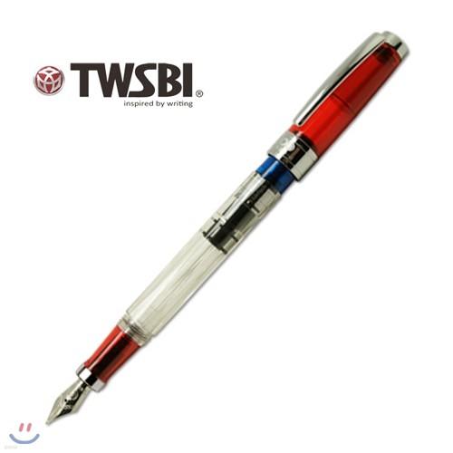 트위스비 다이아몬드 580RB(EF,F,M) (TWSBI Diamond 580 ruby fountain pen)