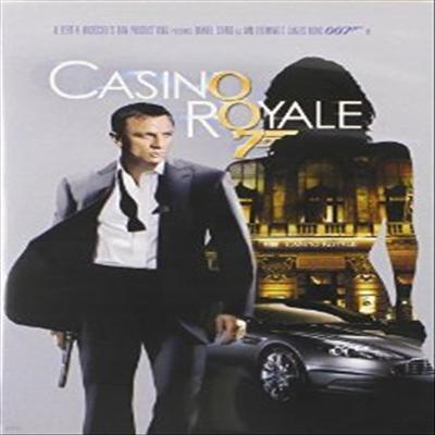 Casino Royale (007 제21탄 - 카지노 로얄)(지역코드1)(한글무자막)(DVD)