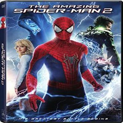 The Amazing Spider-Man 2 (어메이징 스파이더맨 2)(지역코드1)(한글무자막)(DVD)