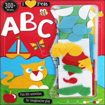 [스크래치 특가] I Love Felt ABC