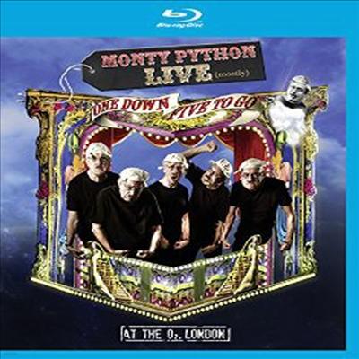 Monty Python Live - Mostly : One Down, Five to Go (몬티 파이튼 라이브) (한글무자막)(Blu-ray)