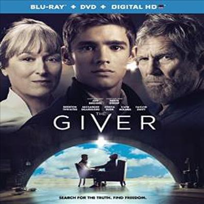 The Giver (더 기버: 기억전달자) (한글무자막)(Blu-ray)