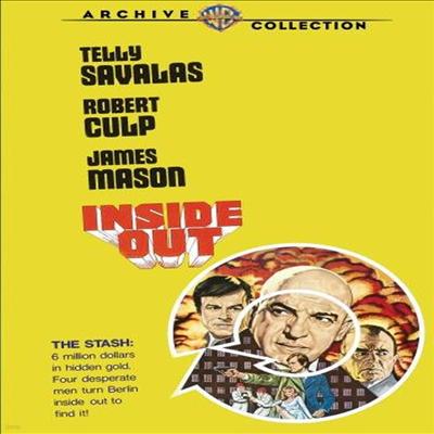 Inside Out (인사이드 아웃)(지역코드1)(한글무자막)(DVD)(DVD-R)