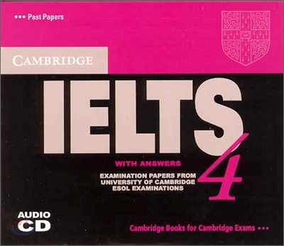 Cambridge IELTS 4 : Audio CD