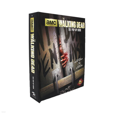 [스크래치 특가]The Walking Dead The Pop-up Book 워킹 데드 팝업북