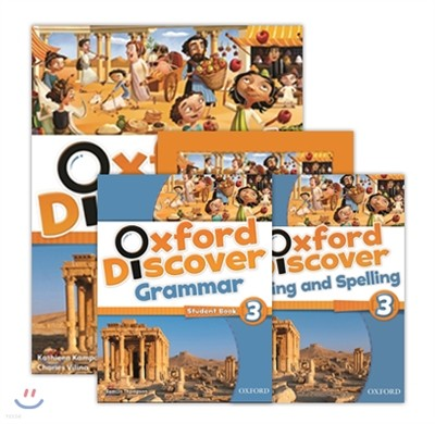 Oxford Discover 3 SB+WB+Writing&Spelling+Grammar